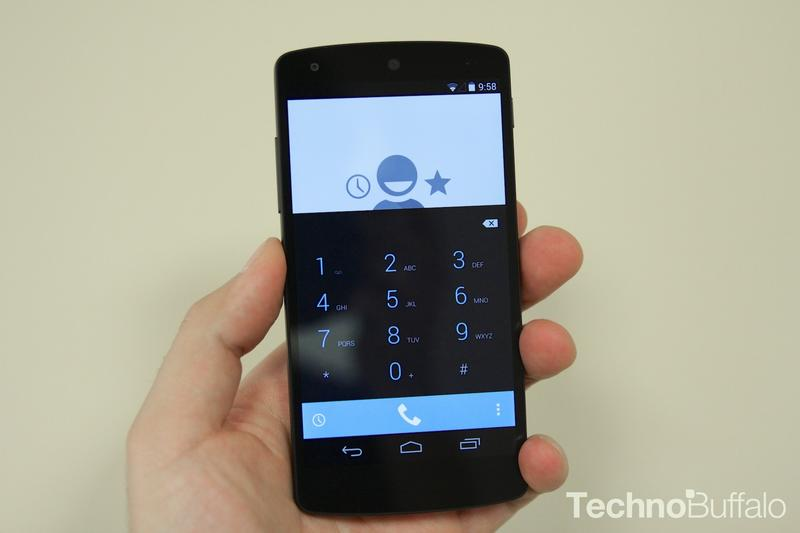 Google Nexus 5-Phone Dialer