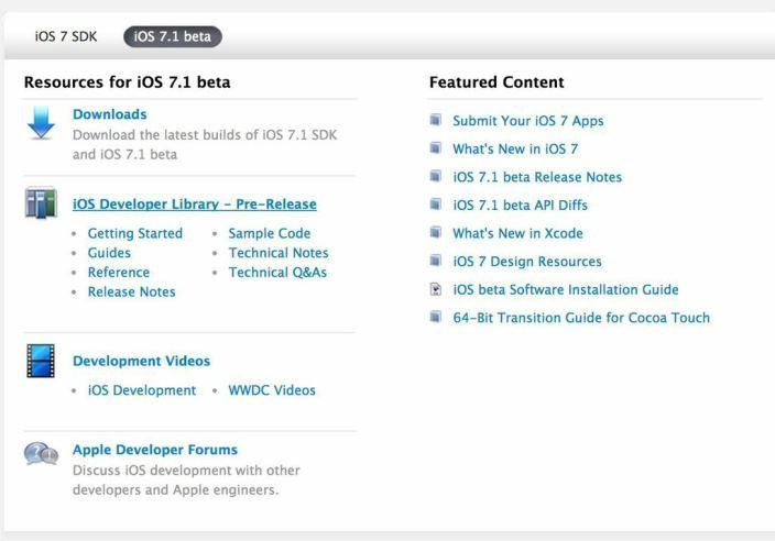 iOS 7 1 Beta Released to Developers with Brand New UI Changes
