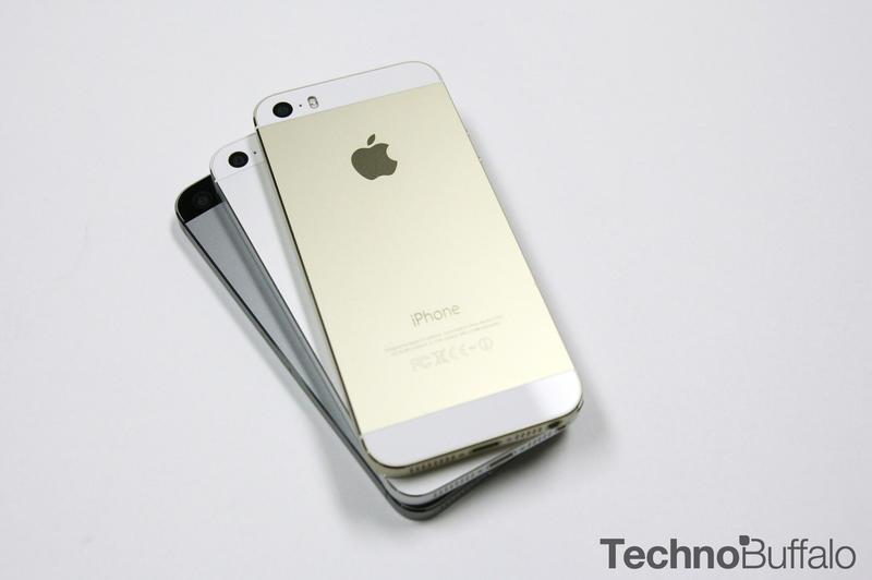 iPhone 5s Gold, Back, Stack