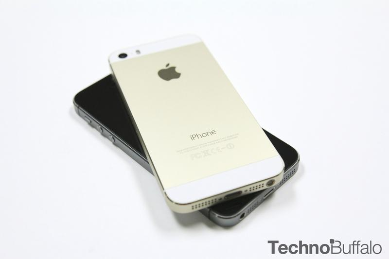 iPhone 5s Gold, Black, Back