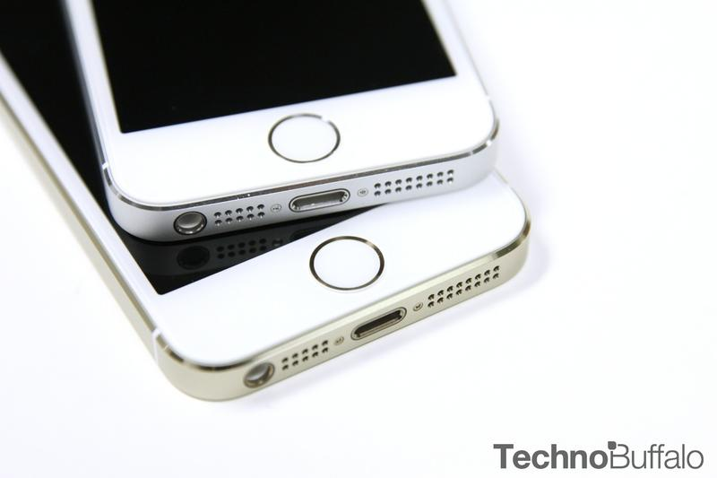 iPhone 5s Gold, Silver, Touch ID
