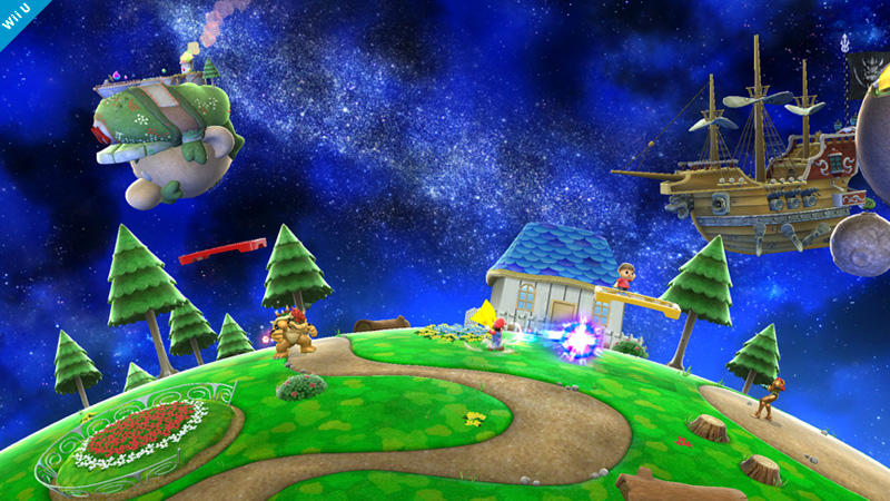 Mario Galaxy Stage Super Smash Bros. - 1