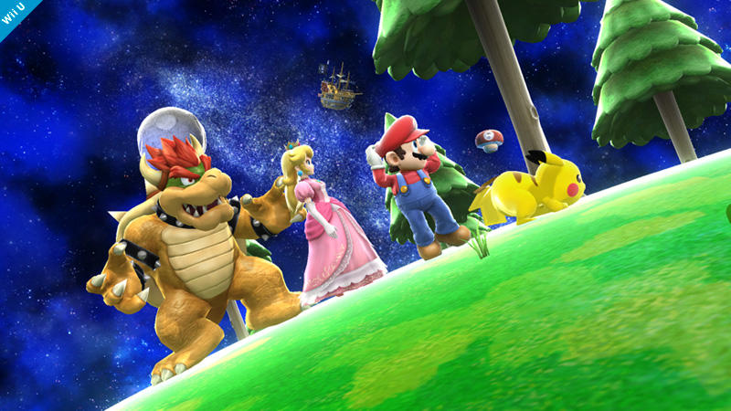 Mario Galaxy Stage Super Smash Bros. - 2