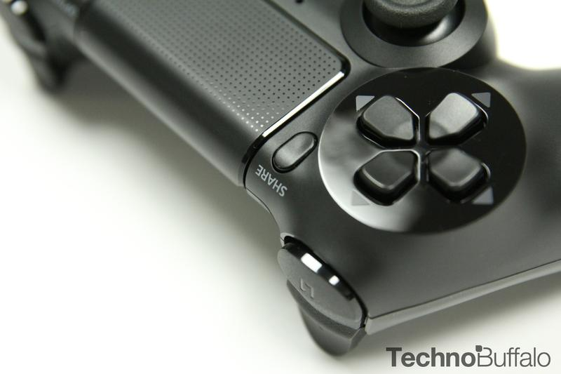 PlayStation 4, Controller, Share