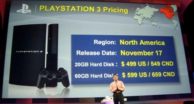 PS3 Launch