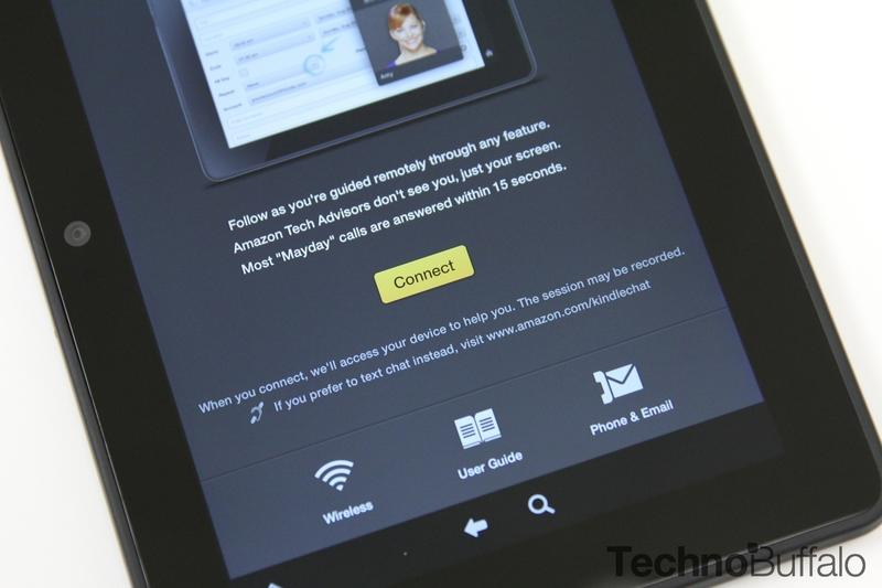 Kindle Fire HDX, Mayday Landing