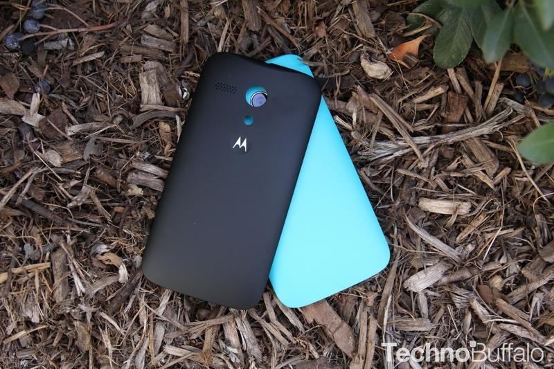 Moto G, Wide with Black Shell