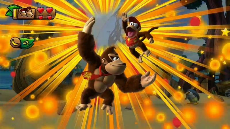 Nintendo Direct 2013 - Donkey Kong - Tropical Freeze - 029