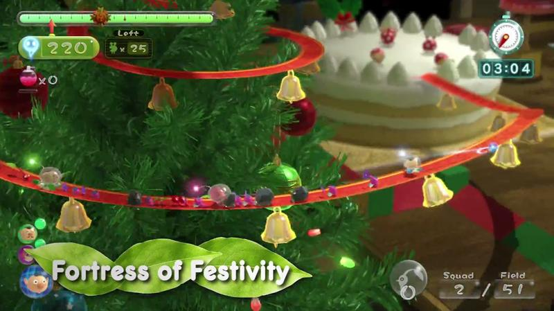Pikmin 3 - Christmas Stage