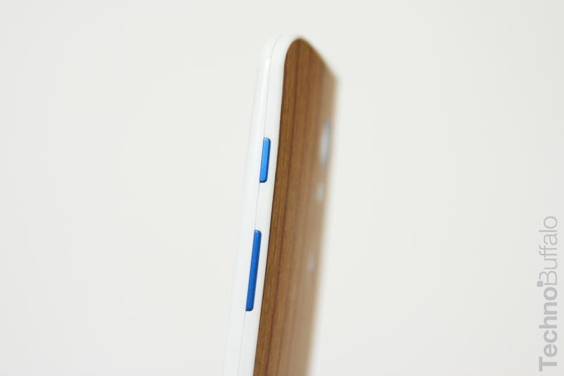 Moto X Wood Back - Volume Buttons