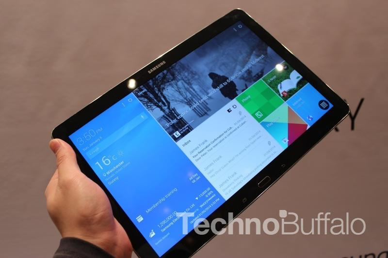 Samsung Galaxy Note Pro 12.2 - Hands On - CES 2014 - 005
