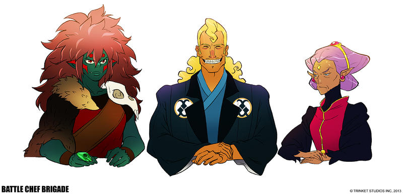 Battle Chef Brigade - Judges