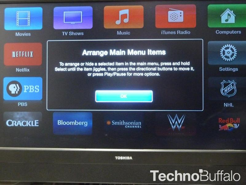 Apple TV March 2014 Update - 1