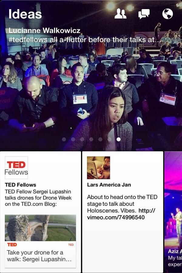 facebook paper ted talks