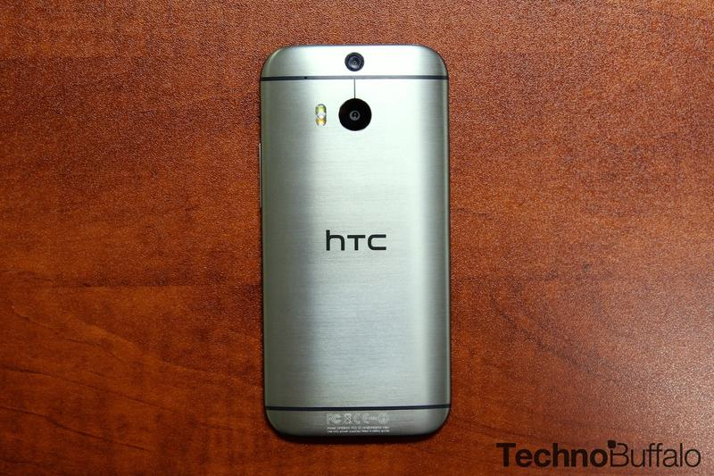HTC One M8 2014-Back
