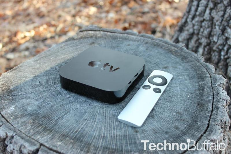 Apple TV in the Woods - 02