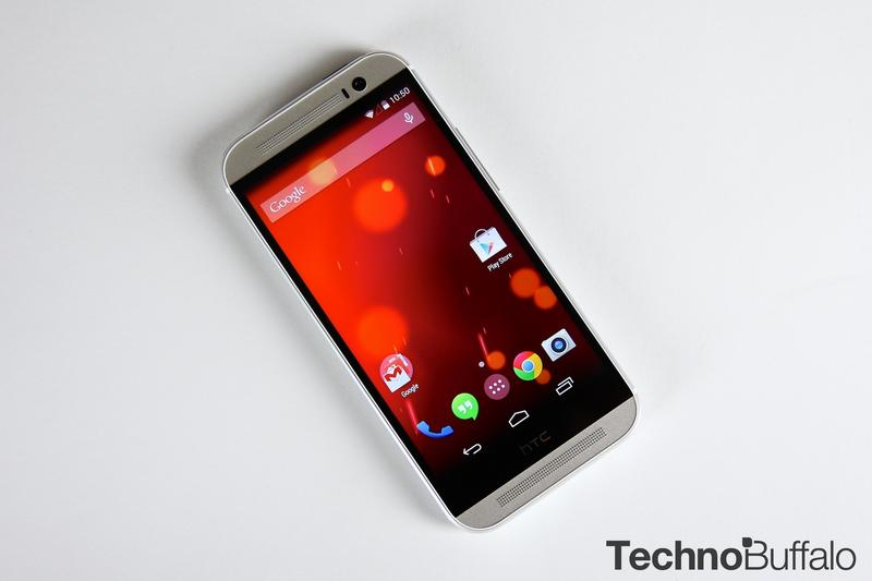HTC One M8-Google Play Edition-Silver-7