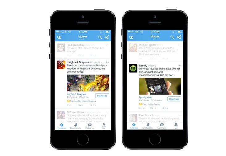 Twitter Follows Facebook With Mobile App Install Ads | TechnoBuffalo