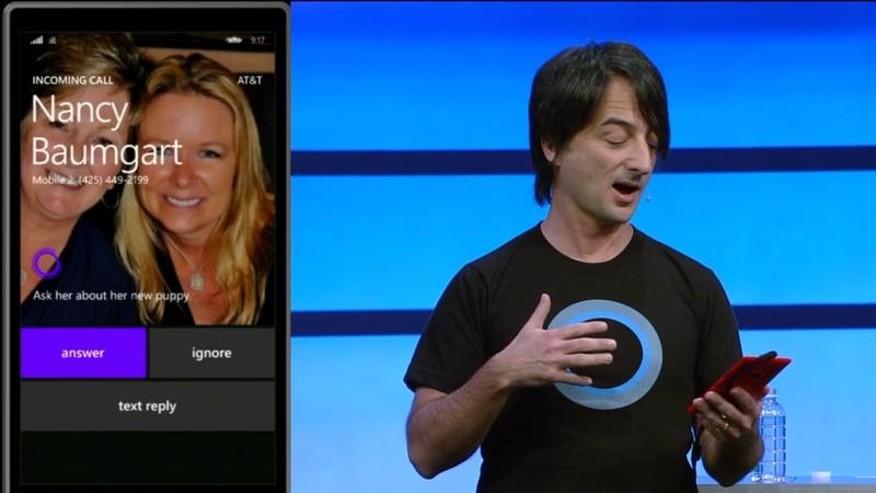 Windows Phone 8.1 - Phone Call - Microsoft - Build 2014 - Screencap - 001