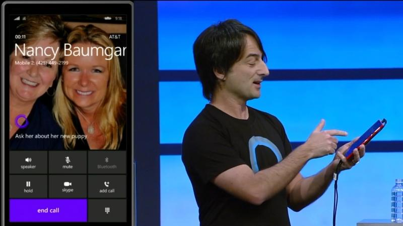 Windows Phone 8.1 - Phone Call - Microsoft - Build 2014 - Screencap - 002
