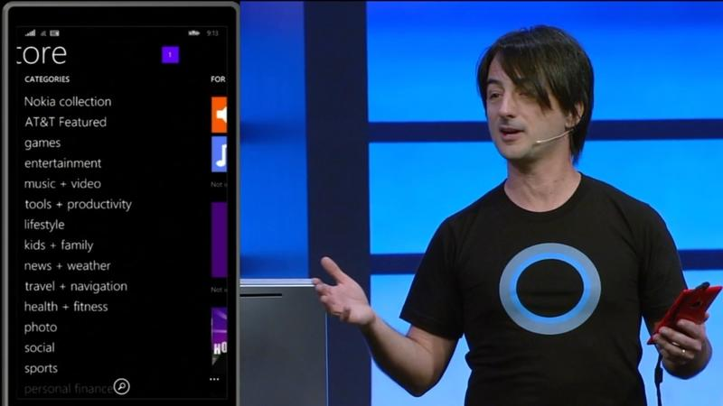 Windows Phone 8.1 - Store - Microsoft - Build 2014 - Screencap - 014
