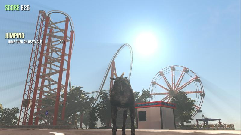 Goat Simulator Adds New Map, New Goats, Local Multiplayer ...