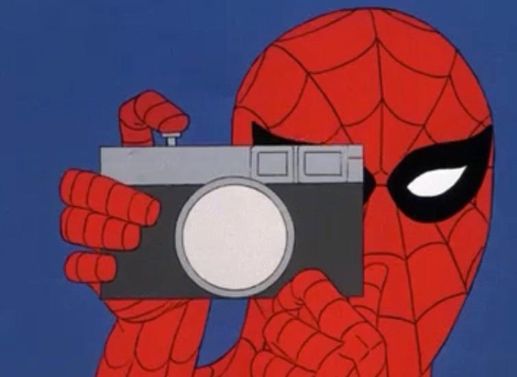 Spider-Man Takes Great Pictures