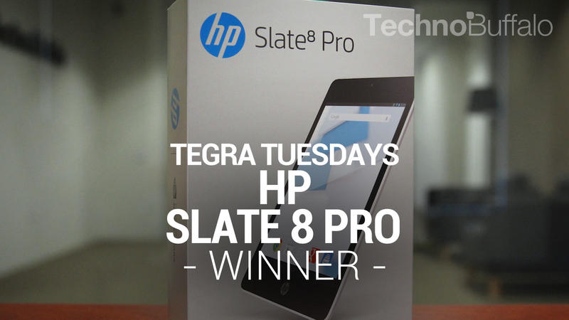 Tegra Tuesday - HP Slate 8 pro winner