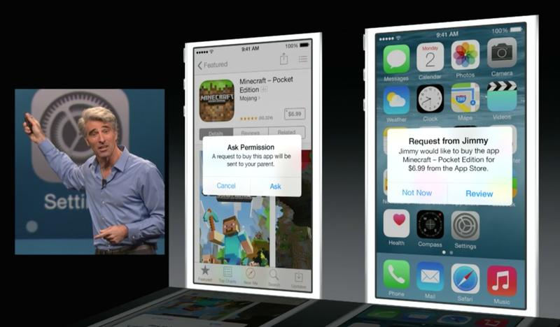 Apple's Family Sharing Feature In iOS 8 Makes It Easier To