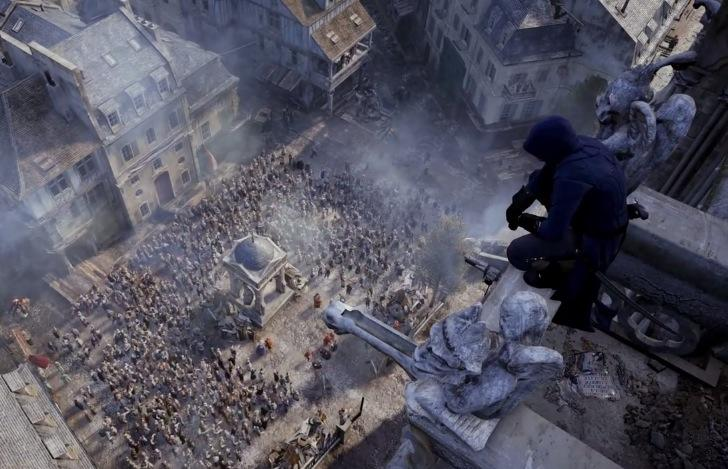 Assassin S Creed Unity Gameplay Shows Off A Lot Of The French
