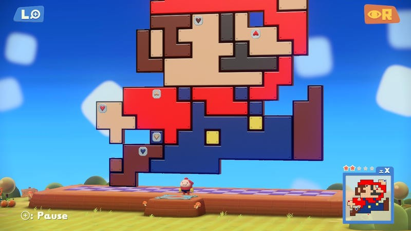 Pushmo Studio - Mario - 2