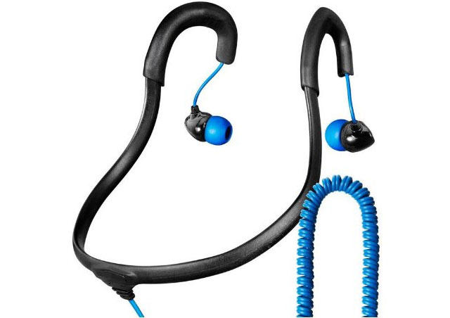 X-1 Surge Sportwrap Waterproof Headphones