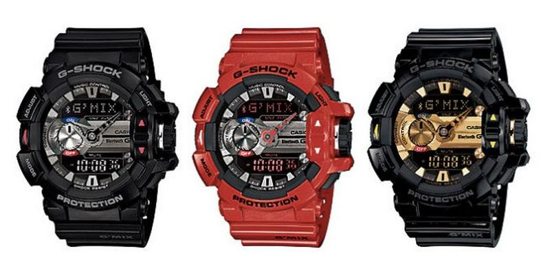 g shock music recognition