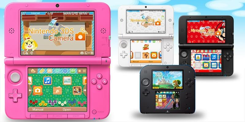Nintendo 3DS Home Screen Themes