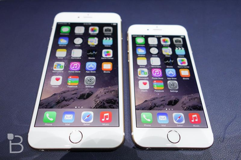 Apple-2014-iPhone-6-Plus-VS-6-1