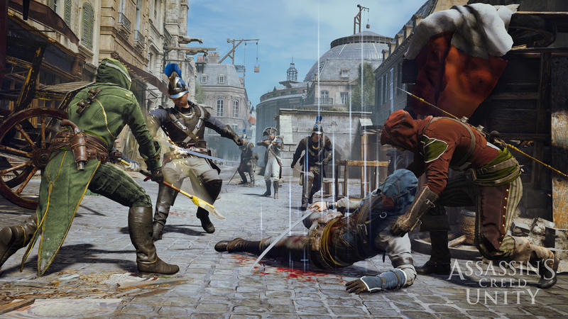 Assassin S Creed Unity Trailer Touts Originality In Gameplay