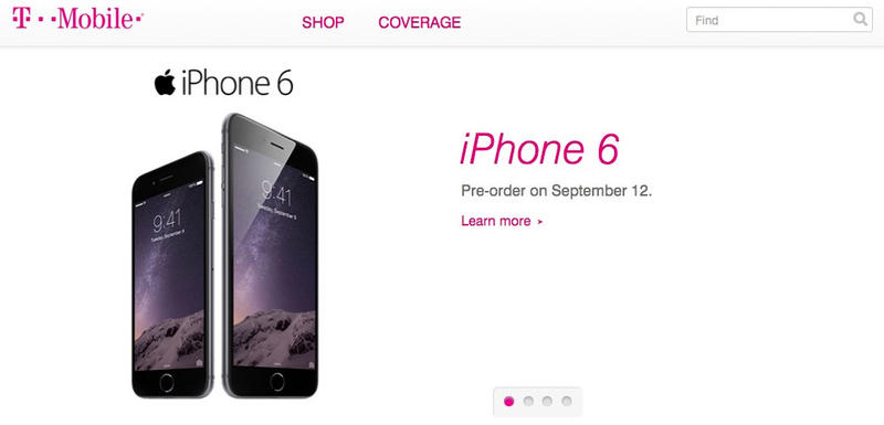 t-mobile iPhone 6 pre-order