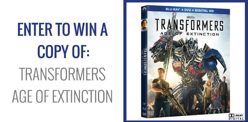 Transformers: Age of Extinction giveaway