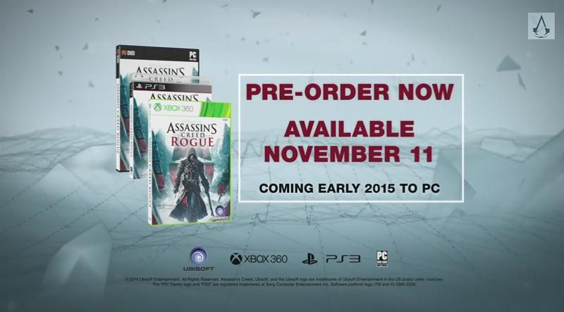 Assassin's Creed Rogue - PC Story Trailer