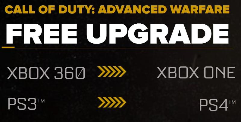 Call of Duty - Advanced Warfare - Free Upgrade