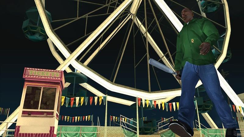 GTA: San Andreas HD on the 360? Yeah, It's a Mobile Port