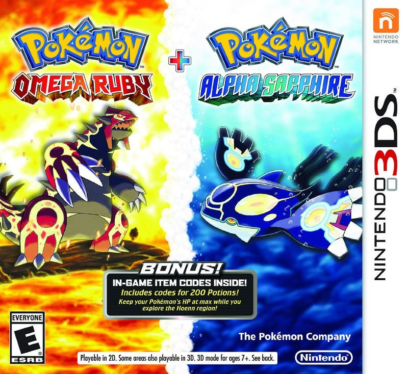 pokemon omega ruby and alpha sapphire duo pack