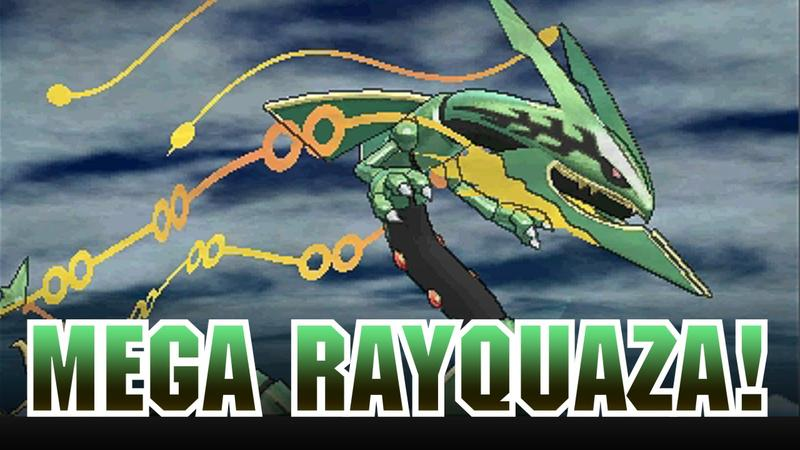 Rayquaza Is The Latest Pokémon To Get A Mega Evolution