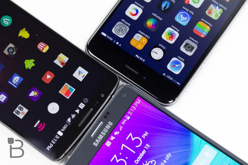Samsung Galaxy Note 4-vs-LG G3-iPhone 6 Plus-7