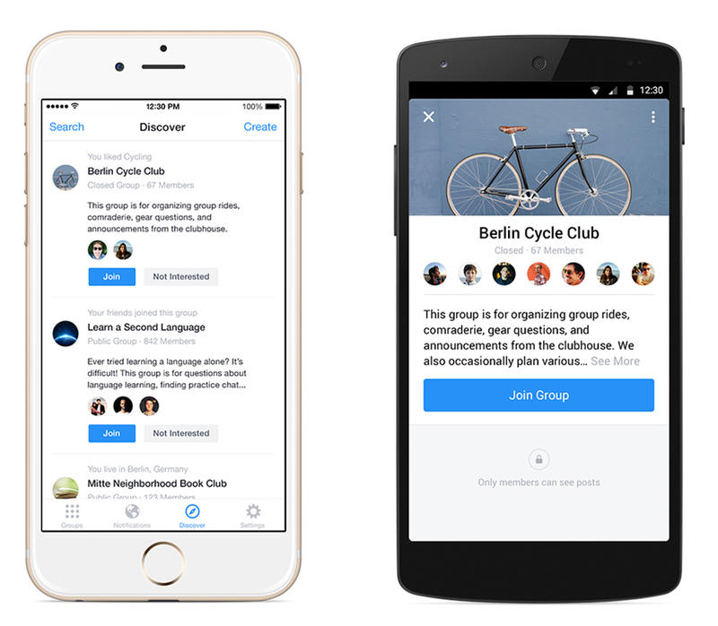 Facebook Groups is Now a Standalone iOS and Android Chat App