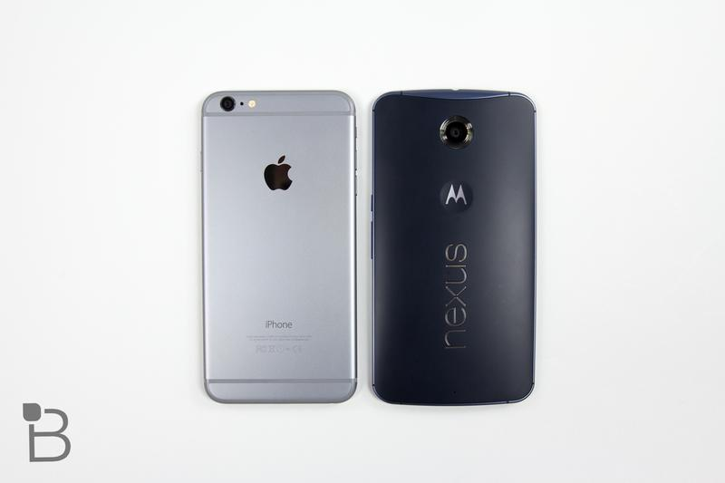 Google Nexus 6 vs iPhone 6-9