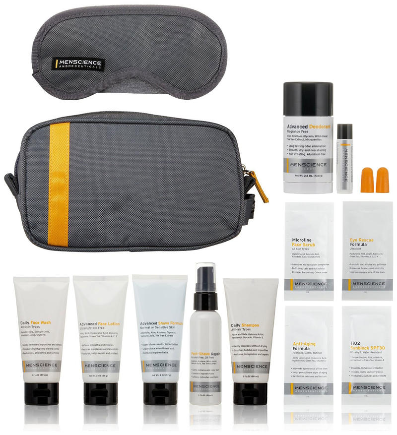MenScience Androceuticals Travel Kit