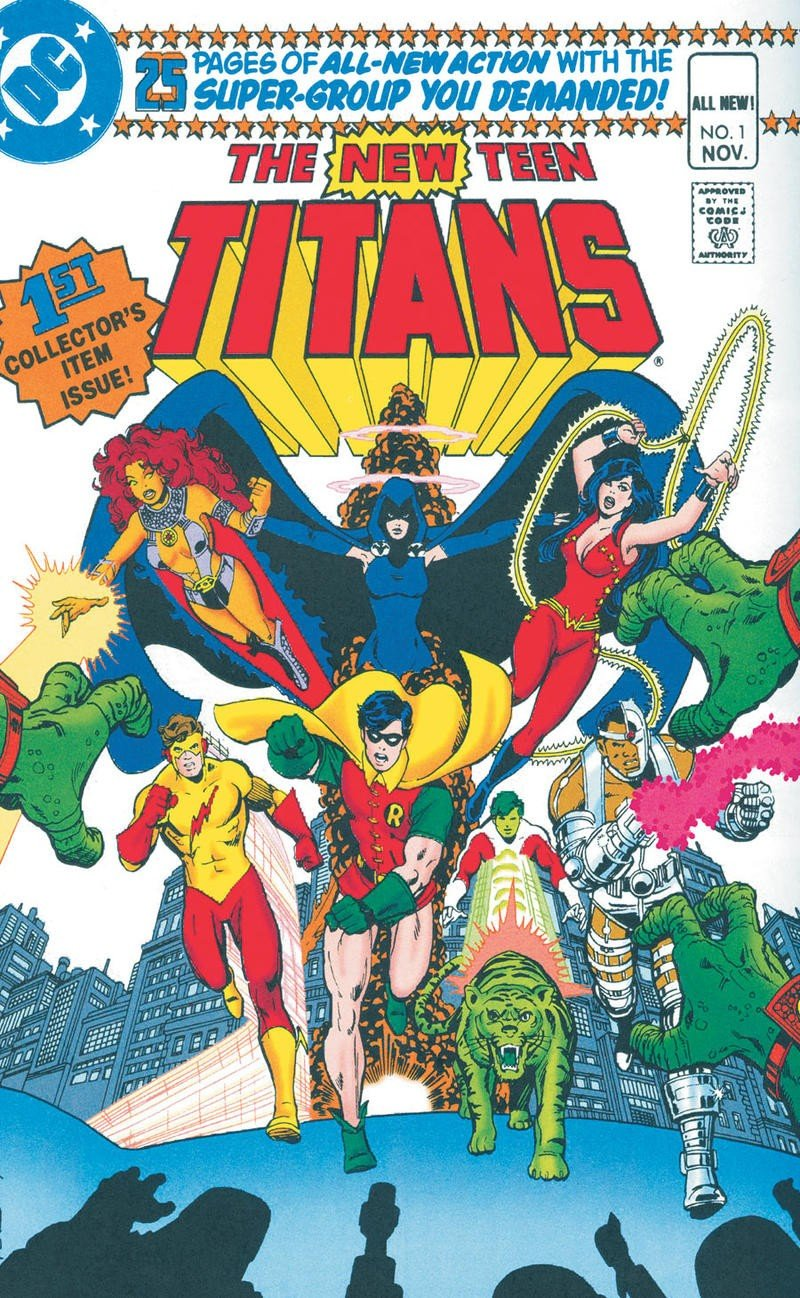 New Teen Titans First Issue