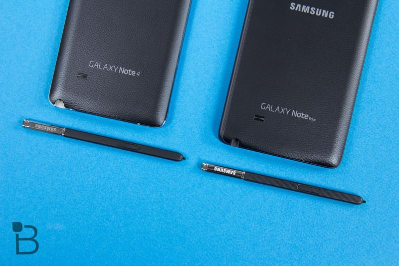 Samsung Galaxy Note Edge vs Galaxy Note 4-6