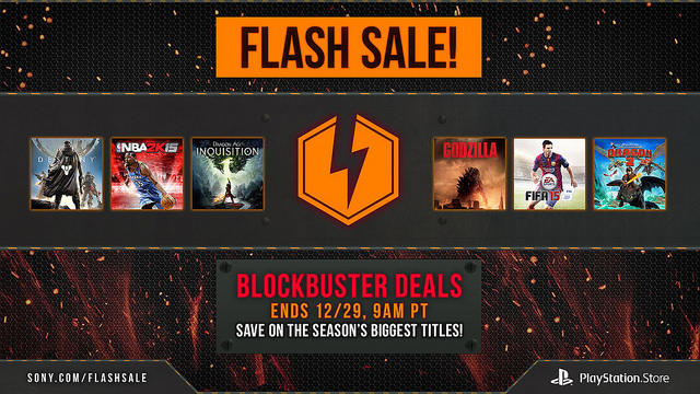 Holiday Flash Sale PlayStation